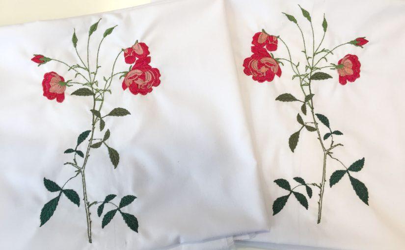 Sábanas bordadas Xutchill bordados y estampación textil en