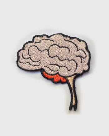 Parche bordado cerebro